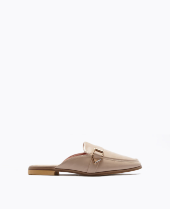 Classic Gets Cool Buckled Mules