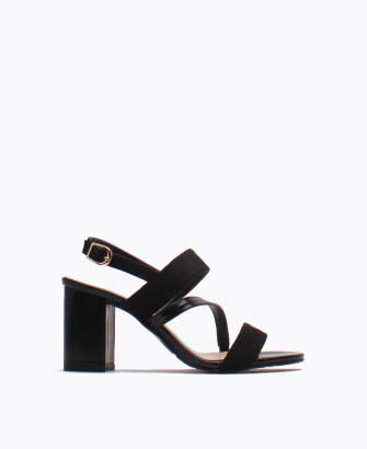 Wide Strap Block heel Sandals
